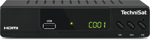TechniSat HD-232 C Kabel Full-HD Schwarz TV Set-Top-Box (Schwarz)