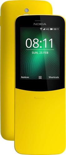Nokia 8110 4G 2.45Zoll Dual SIM 4G 0.5GB 4GB 1500mAh Gelb (Gelb)