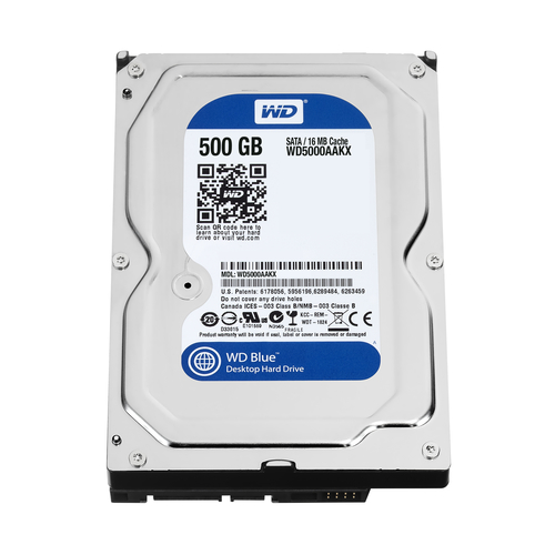 Western Digital Blue 500GB (Schwarz)