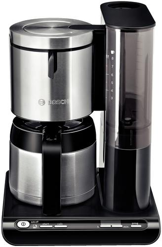 Bosch TKA8653 Kaffeemaschine (Schwarz, Edelstahl)