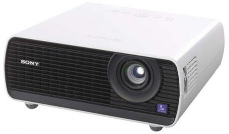 Sony VPL-EX145 Beamer/Projektor (Schwarz, Weiß)