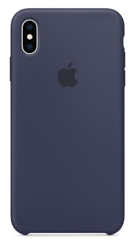 Apple MRWG2ZM/A 6.5Zoll Hauthülle Blau Handy-Schutzhülle (Blau)