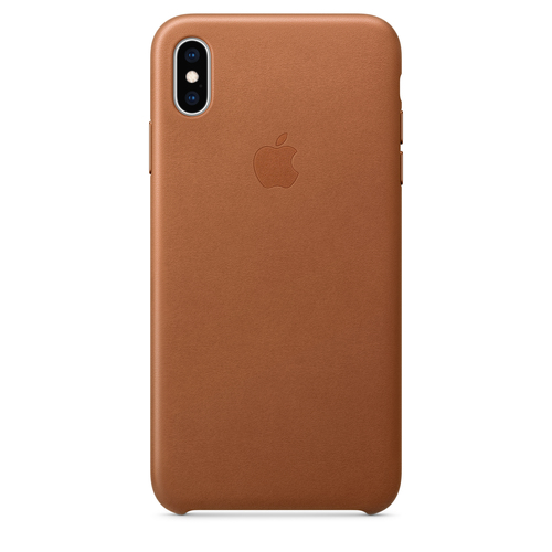 Apple MRWV2ZM/A 6.5Zoll Abdeckung Braun Handy-Schutzhülle (Braun)