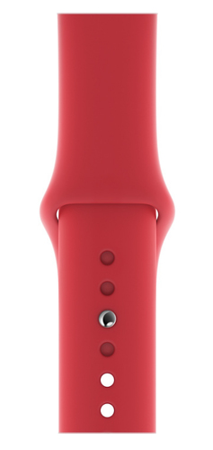 Apple MU9M2ZM/A Smartwatch-Zubehör Band Rot Fluor-Elastomer (Rot)