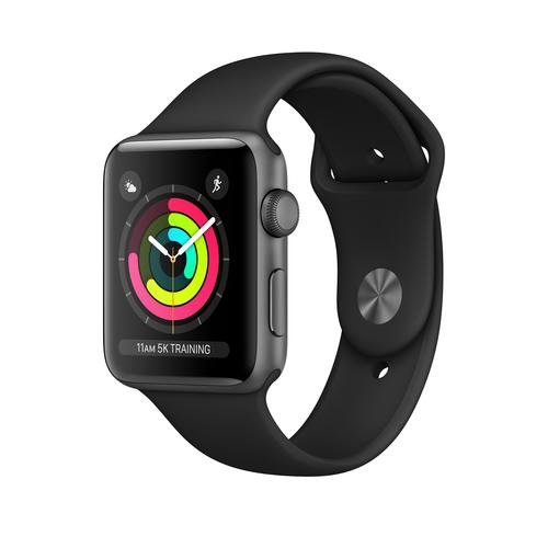 Apple Watch Series 3 42 mm OLED Grau GPS