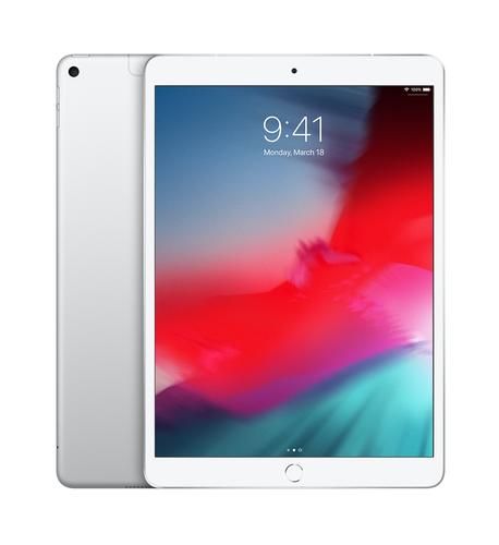 Apple iPad Air 4G LTE 64 GB 26,7 cm (10.5 Zoll) Wi-Fi 5 (802.11ac) iOS 12 Silber (Silber)