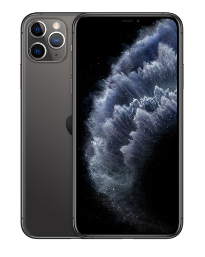 Apple iPhone 11 Pro Max 16,5 cm (6.5 Zoll) Dual-SIM iOS 13 4G 512 GB Grau (Grau)