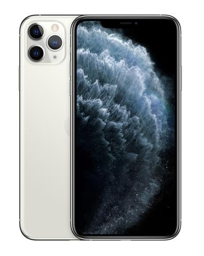 Apple iPhone 11 Pro Max 16,5 cm (6.5 Zoll) Dual-SIM iOS 13 4G 256 GB Silber (Silber)