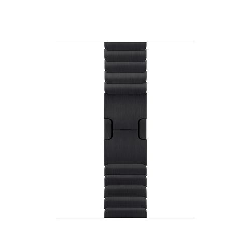 Apple MUHK2ZM/A Smartwatch-Zubehör Band Schwarz Edelstahl (Schwarz)