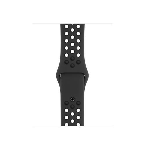 Apple MX8C2ZM/A Smartwatch-Zubehör Band Anthrazit, Schwarz Fluor-Elastomer (Anthrazit, Schwarz)