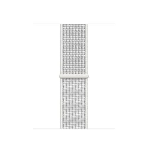 Apple MX802ZM/A Smartwatch-Zubehör Band Weiß Nylon (Weiß)