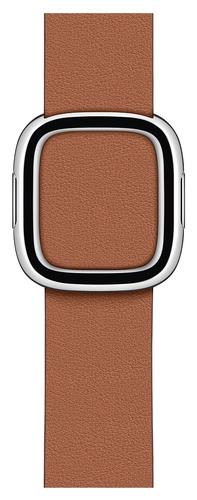 Apple MWRC2ZM/A Smartwatch-Zubehör Band Braun Leder (Braun)