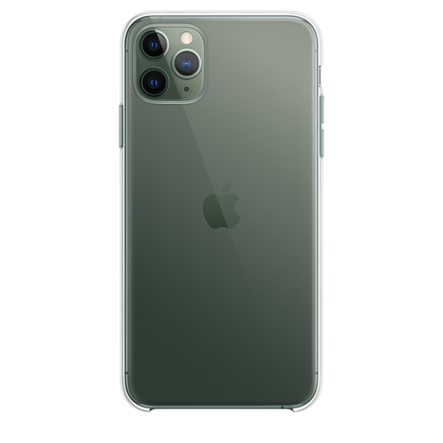 Apple MX0H2ZM/A Handy-Schutzhülle 16,5 cm (6.5 Zoll) Cover Durchscheinend (Durchscheinend)