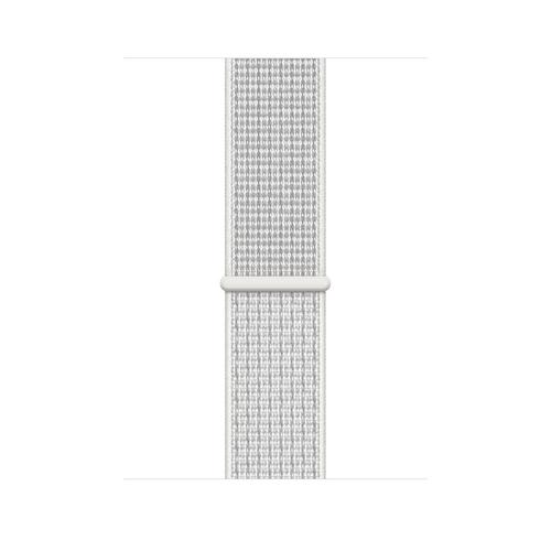 Apple MX822ZM/A Smartwatch-Zubehör Band Weiß Nylon (Weiß)