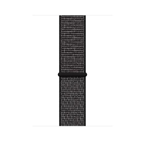 Apple MX812ZM/A Smartwatch-Zubehör Band Schwarz Nylon (Schwarz)