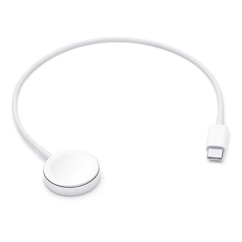 Apple MX2J2ZM/A Smartwatch-Zubehör Ladekabel Weiß (Weiß)