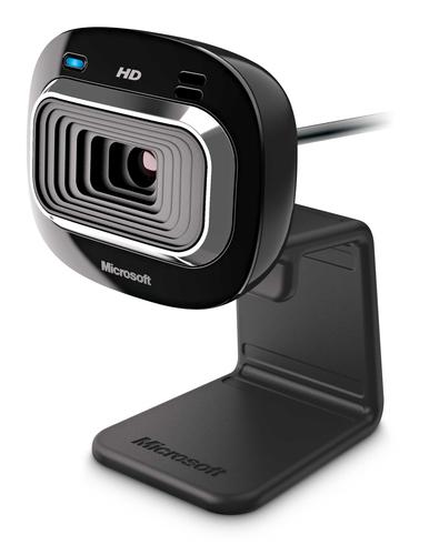 Microsoft LifeCam HD-3000 (Schwarz)