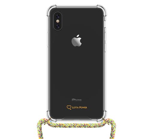 Lotta Power Phone Necklace Handy-Schutzhülle 14,7 cm (5.8 Zoll) Cover Mehrfarben (Mehrfarben)