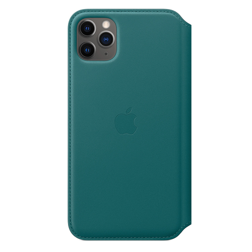 Apple MY1Q2ZM/A Handy-Schutzhülle 16,5 cm (6.5 Zoll) Folio Grün (Grün)