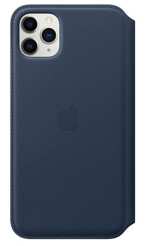 Apple MY1P2ZM/A Handy-Schutzhülle 16,5 cm (6.5 Zoll) Folio Blau (Blau)
