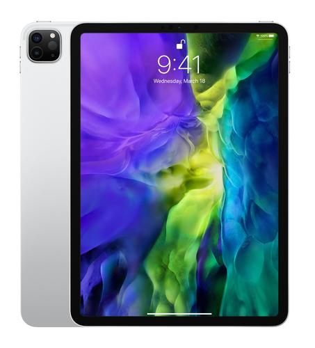 Apple iPad Pro 4G LTE 128 GB 27,9 cm (11 Zoll) Wi-Fi 6 (802.11ax) iPadOS Silber (Silber)