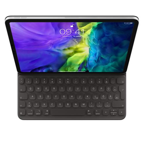 Apple MXNK2D/A Tastatur für Mobilgeräte Schwarz QWERTZ Deutsch (Schwarz)