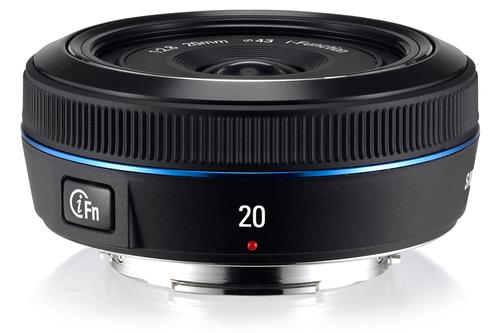 Samsung 20mm F2.8 i-Function (Schwarz)