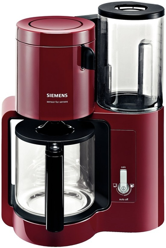 Siemens TC80104 Kaffeemaschine (Schwarz, Rot)