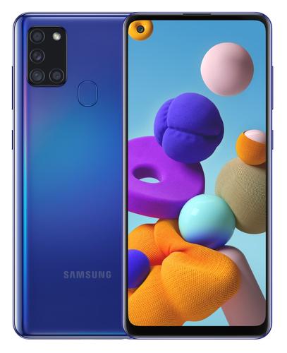 Samsung Galaxy A21s SM-A217F 16,5 cm (6.5 Zoll) Dual-SIM Android 10.0 4G USB Typ-C 3 GB 32 GB 5000 mAh Blau (Blau)