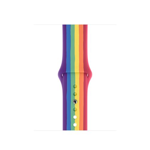 Apple MY1X2ZM/A Smartwatch-Zubehör Band Mehrfarben Fluor-Elastomer (Mehrfarben)