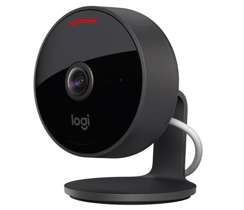 Logitech Circle View IP-Sicherheitskamera Innen & Außen Geschoss 1920 x 1080 Pixel Tisch/Wand (Schwarz)