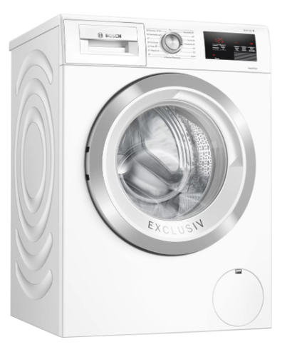 Bosch Serie 6 WAU28U90 Waschmaschine Freistehend Frontlader 9 kg 1400 RPM A+++ Weiß (Weiß)