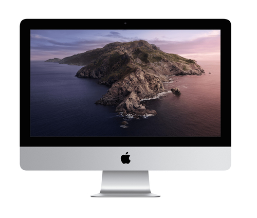 Apple iMac 54,6 cm (21.5 Zoll) 4096 x 2304 Pixel Intel® Core™ i3 der achten Generation 8 GB DDR4-SDRAM 256 GB SSD AMD Radeon Pro 555X macOS Catalina 10.15 Wi-Fi 5 (802.11ac) All-in-One-PC Silber (Silber)