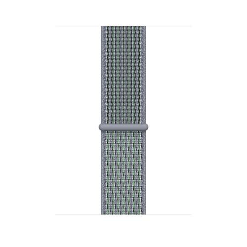 Apple MGQL3ZM/A Smartwatch-Zubehör Band Schwarz, Grün, Grau Nylon (Schwarz, Grün, Grau)