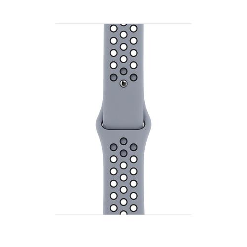 Apple MG403ZM/A Smartwatch-Zubehör Band Schwarz, Grau Fluor-Elastomer (Schwarz, Grau)