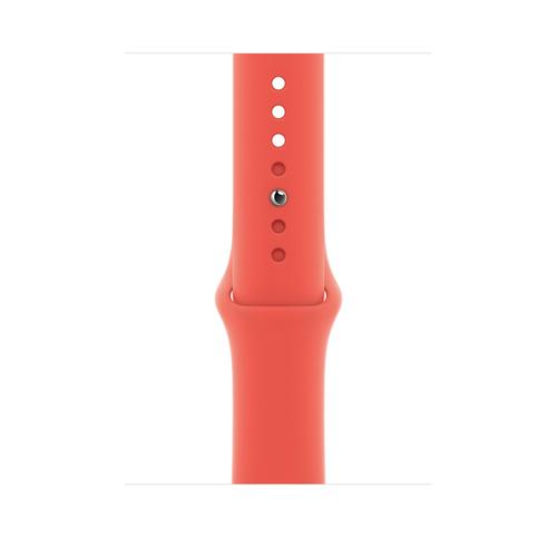 Apple MYAW2ZM/A Smartwatch-Zubehör Band Pink Fluor-Elastomer (Pink)