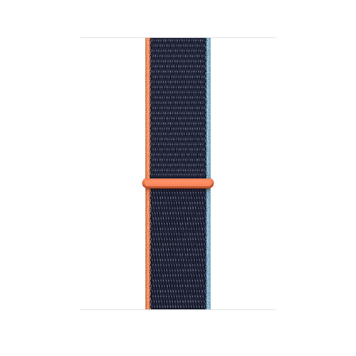 Apple MYA82ZM/A Smartwatch-Zubehör Band Navy Nylon (Navy)