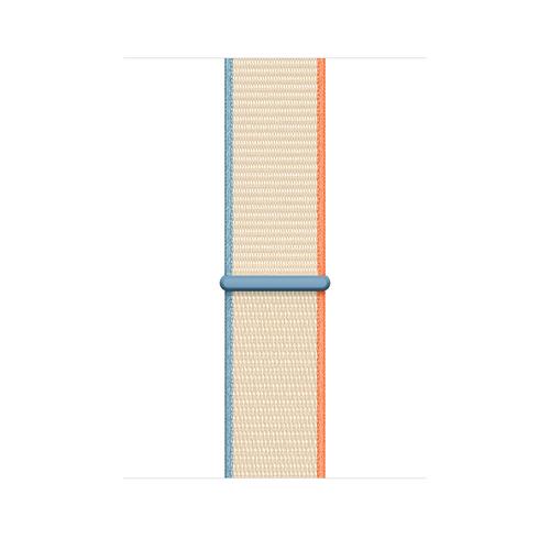 Apple MYA52ZM/A Smartwatch-Zubehör Band Cremefarben Nylon (Cremefarben)