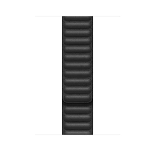 Apple MY9M2ZM/A Smartwatch-Zubehör Band Schwarz Leder (Schwarz)