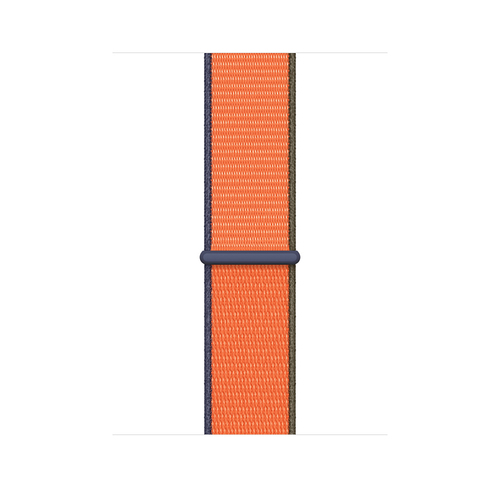 Apple MYA62ZM/A Smartwatch-Zubehör Band Blau, Grün, Orange Nylon (Blau, Grün, Orange)