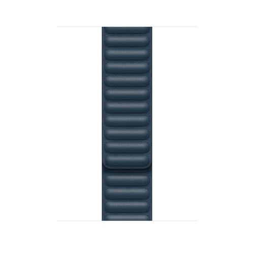 Apple MY9K2ZM/A Smartwatch-Zubehör Band Blau Leder (Blau)