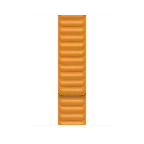 Apple MY9Q2ZM/A Smartwatch-Zubehör Band Orange Leder (Orange)