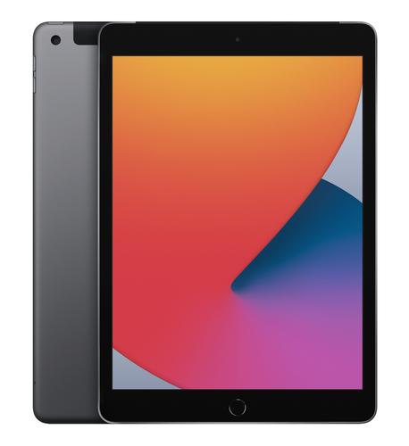 Apple iPad 4G LTE 128 GB 25,9 cm (10.2 Zoll) Wi-Fi 5 (802.11ac) iPadOS Grau (Grau)