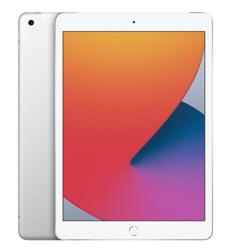 Apple iPad 4G LTE 128 GB 25,9 cm (10.2 Zoll) Wi-Fi 5 (802.11ac) iPadOS Silber (Silber)