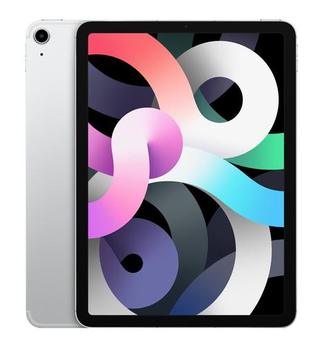 Apple iPad Air 4G LTE 64 GB 27,7 cm (10.9 Zoll) Wi-Fi 6 (802.11ax) iOS 14 Silber (Silber)