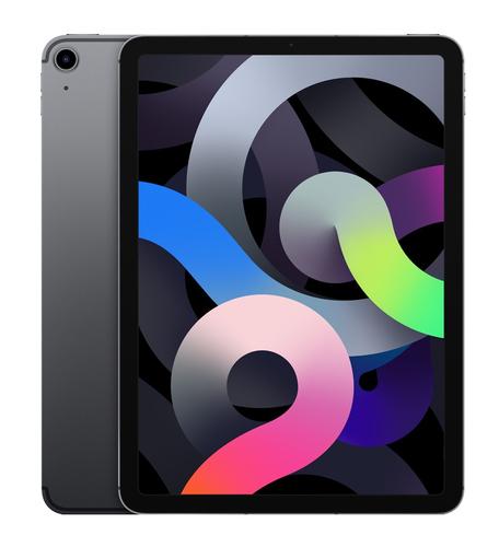 Apple iPad Air 4G LTE 256 GB 27,7 cm (10.9 Zoll) Wi-Fi 6 (802.11ax) iOS 14 Grau (Grau)