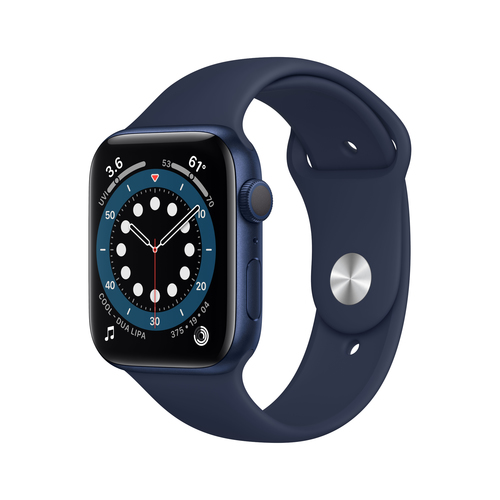 Apple Watch Series 6 44 mm OLED Blau GPS