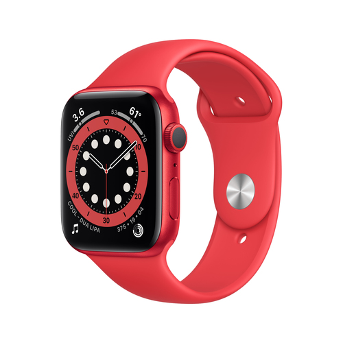 Apple Watch Series 6 44 mm OLED Rot GPS