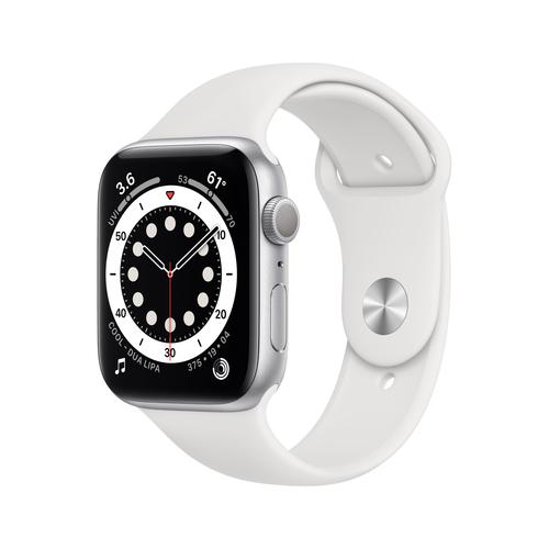 Apple Watch Series 6 40 mm OLED Silber GPS