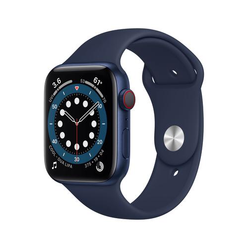 Apple Watch Series 6 44 mm OLED 4G Blau GPS